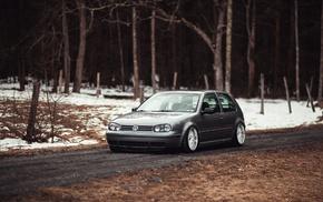 Golf IV, Stance, Volkswagen, car
