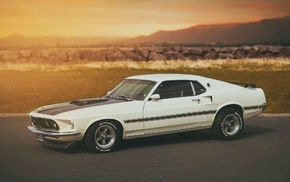 classic car, car, Ford, Ford Mustang