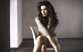 celebrity, Deepika Padukone, model, sensual gaze