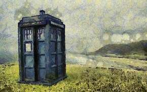 Doctor Who, TARDIS, The Doctor, artwork