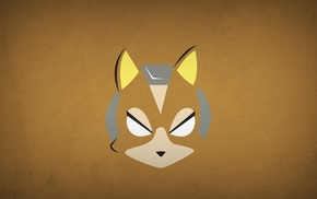 starfox, Fox McCloud, minimalism, Blo0p, Nintendo, video games