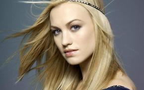 девушка, голубые глаза, знаменитость, лицо, блондинка