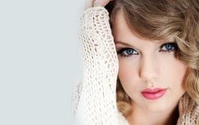 singer, celebrity, blue eyes, Taylor Swift, netted, blonde
