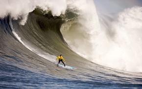 wave, ocean, surfing, extreme, stunner