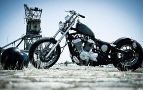 motorcycles, black, motorcycle, bike