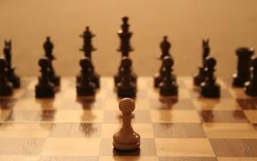 chess, board games, depth of field