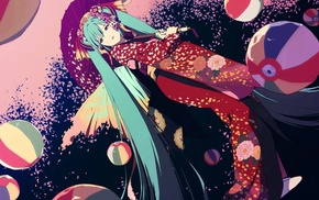 Vocaloid, Hatsune Miku, traditional clothing