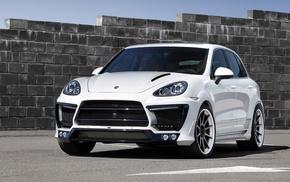 background, wheels, Porsche, wall, white