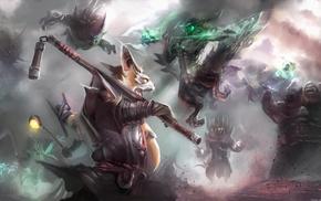 Clash, Dota 2, fighting, creature