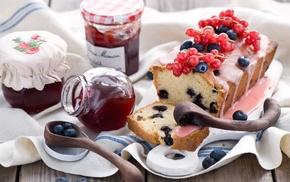 jelly, fruit, food, bread