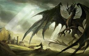 произведение искусства, дракон