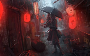 Andree Wallin, urban, concept art, digital art