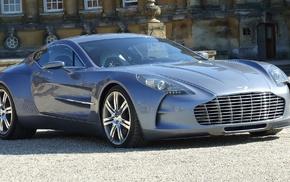 One 77, машина, Aston Martin, автомобили, серый