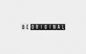 typography, simple background, minimalism
