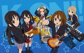 Nakano Azusa, Tainaka Ritsu, K, ON, Kotobuki Tsumugi, Akiyama Mio