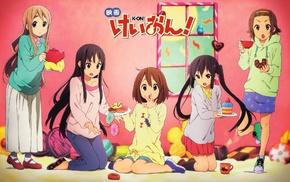 Kotobuki Tsumugi, Tainaka Ritsu, Hirasawa Yui, Akiyama Mio, Nakano Azusa, K