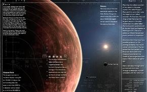 Mars, planet, infographics