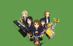Hirasawa Yui, Akiyama Mio, Kotobuki Tsumugi, Nakano Azusa, K, ON