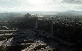 Naboo, Star Wars, Spaceport, Theed