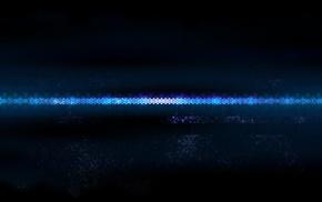 синий, минимализм, абстрактные