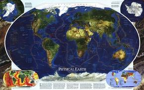 карта, Земля