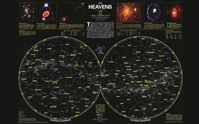 National Geographic, star map
