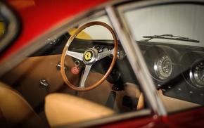 Classic Ferrari, old car, vintage, car, Ferrari, 250 GT Lusso