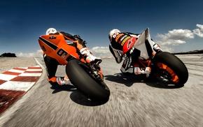 race tracks, KTM RC8, KTM, racing