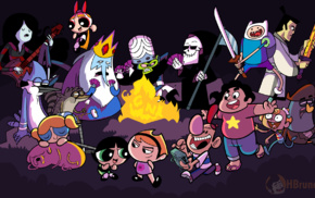 Cartoon Network, Powerpuff Girls, The Grim Adventures of Billy  Mandy, Regular Show, Adventure Time, Steven Universe