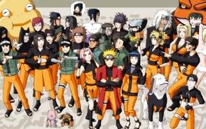 Учиха Саске, Наруто, аниме, Узумаки Наруто