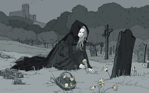 graveyards, death