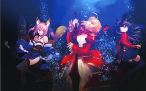 Type, Moon, Empress Nero, Caster FateExtra, Takeuchi Takashi, FateExtra