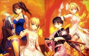 Arcueid Brunestud, Saber, Lunar Legend Tsukihime, Type, Moon, dress