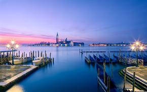 Italy, sunset, photo, sky, city