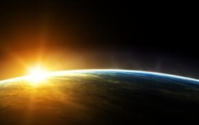 солнце, Земля