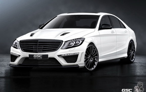 auto, headlights, tuning, white, cars