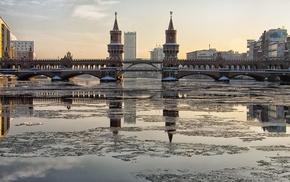 Берлин, весна, башни, Berlin, Германия, города