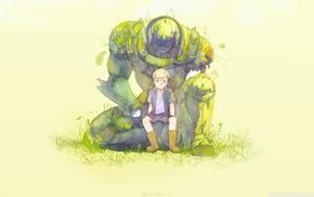 Full Metal Alchemist, anime, Elric Alphonse