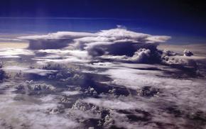 фото, шторм, 50 км, тучи, стратосфера, от земли