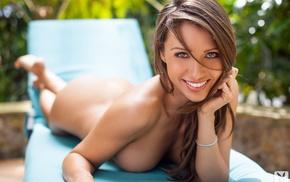 Playboy, smiling, girls, girl, boobs