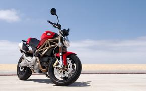 bike, red, motorcycles, motorcycle