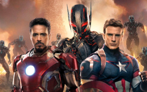 Ultron, Robert Downey Jr., Captain America, Tony Stark, Steve Rogers, Iron Man
