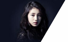 Suzy, Korean, black hair, K, pop, Miss A