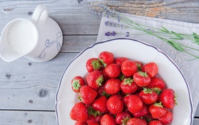 berries, delicious, strawberry, food