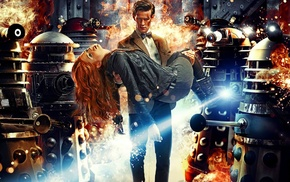 Amy Pond, fantasy art, Eleventh Doctor, Karen Gillan, Doctor Who, Matt Smith