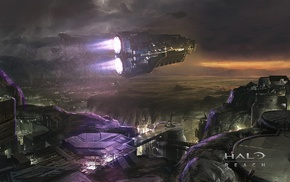 Halo, Halo Reach, fantasy art