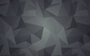 low poly, gray, abstract
