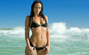 girls, bikini, woman