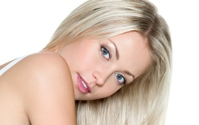 people, blonde, girl, white background
