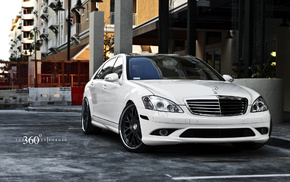 cars, Mercedes, Mercedes-Benz, tuning, white